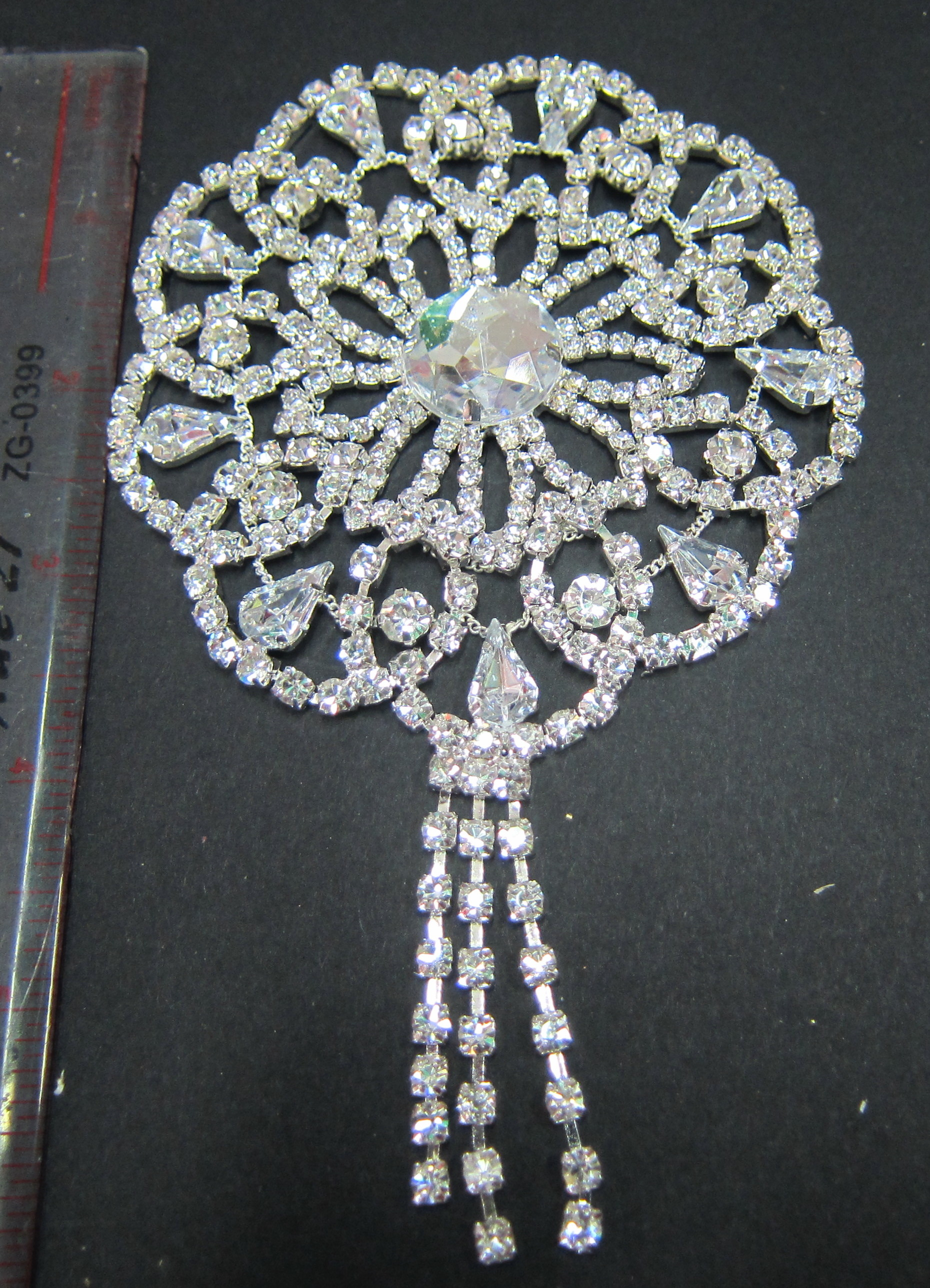 C10-02 Rhinestone Applique