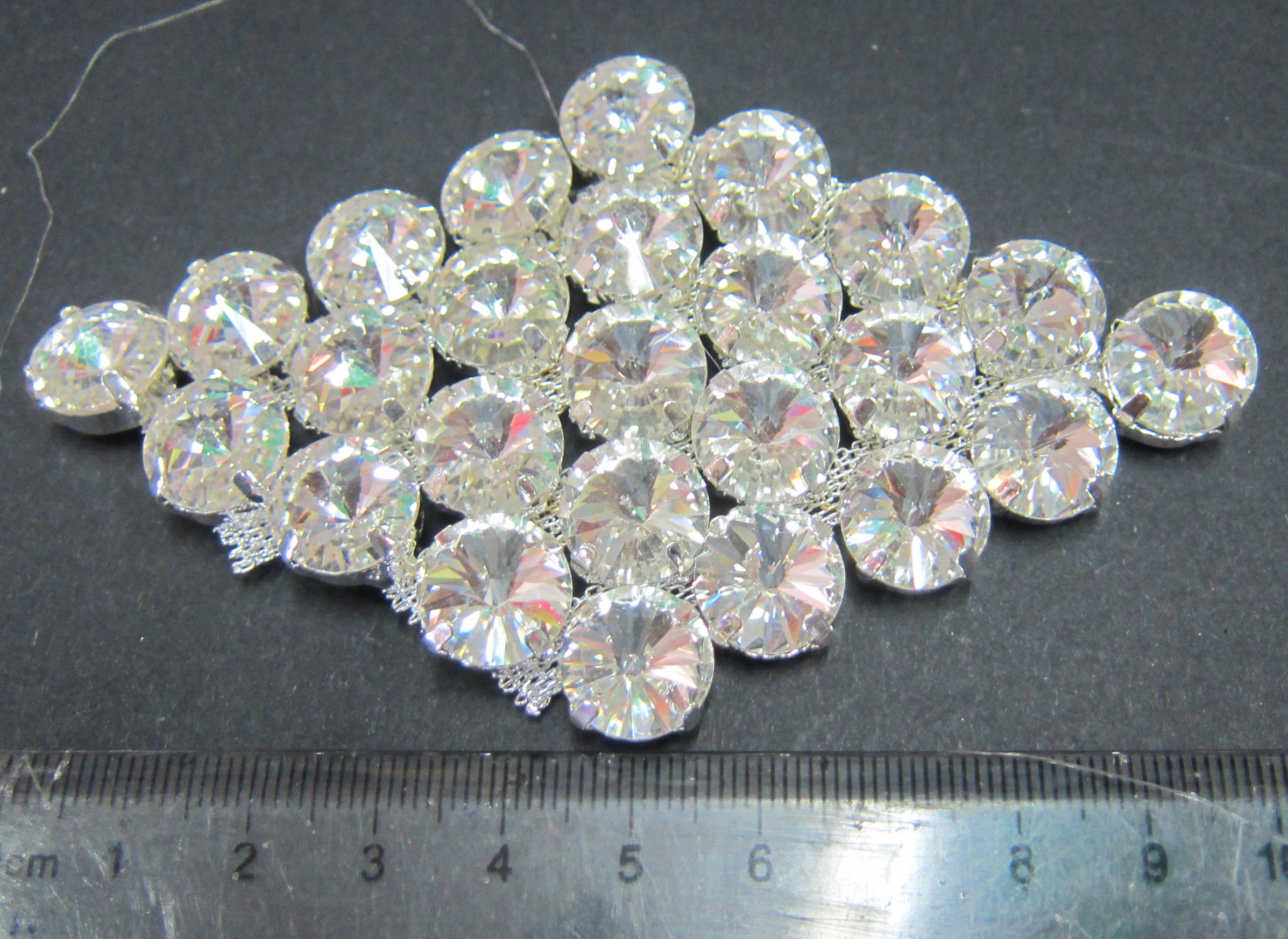 C10-04 Rhinestone Applique