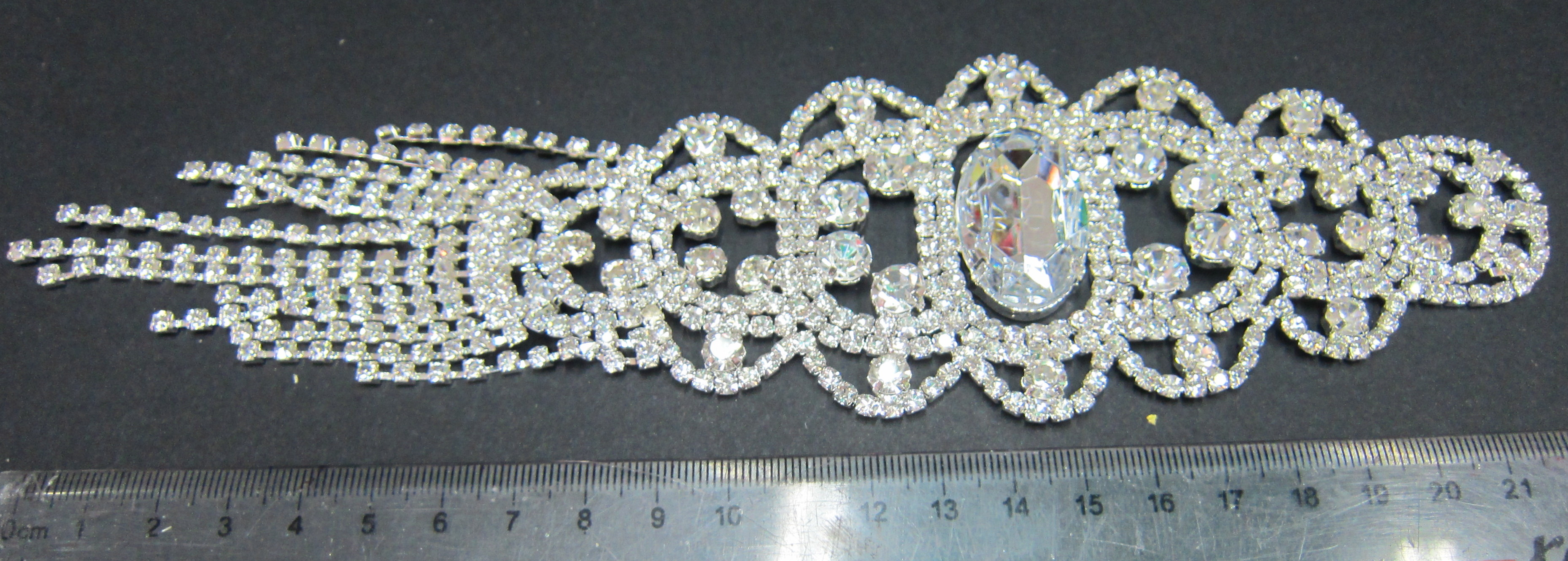 C10-07 Rhinestone Applique