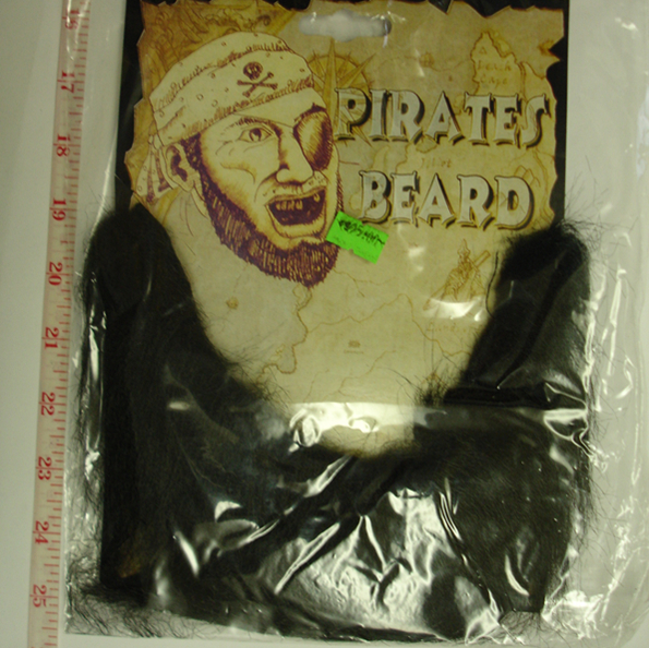 Pirates beard