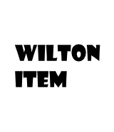 Wilton Items